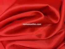 Атлас стрейч плотный(красный)