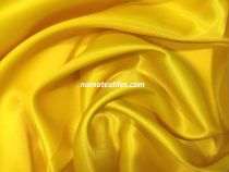 Атлас стрейч плотный(желтый)