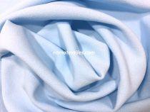 Трикотаж Креп Дайвинг (бледно голубой)