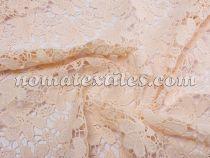 гипюр макраме ( персиковый )