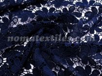 Гипюр макраме (темно синий )