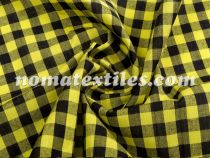 Рубашечная Клетка ( жёлтый черный 10мм)