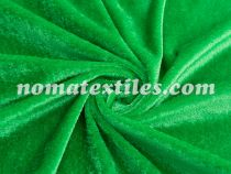 велюр. цвет зеленый №6