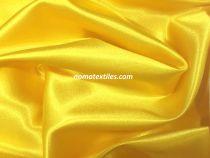 Атлас стрейч тонкий(желтый)