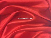Атлас стрейч тонкий(красный)