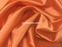 Атлас стрейч тонкий(оранжевый)