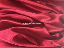 Атлас стрейч тонкий (бордовый)