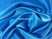 Атлас стрейч плотный(бирюза голубая)