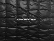 плащевка стеганая, цвет черный №1