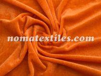 велюр. цвет оранжевый №11