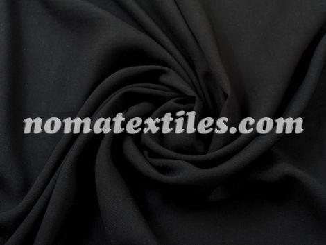 штапель, цвет черный №17