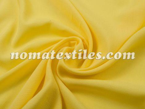 штапель, цвет желтый №15