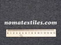 трикотаж мустанг полоска (серый меланж)