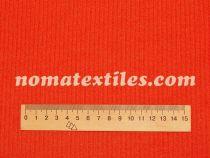 трикотаж мустанг полоска (морковный)