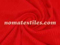 трикотаж мустанг полоска (красный)
