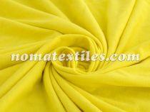 Трикотаж кулир хлопок 100% (жёлтый)
