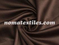 Сатин однотонный коричневый