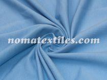 Трикотаж двунитка пенье (голубой)