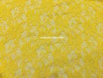 гипюр стрейч диз2. цвет желтый №12