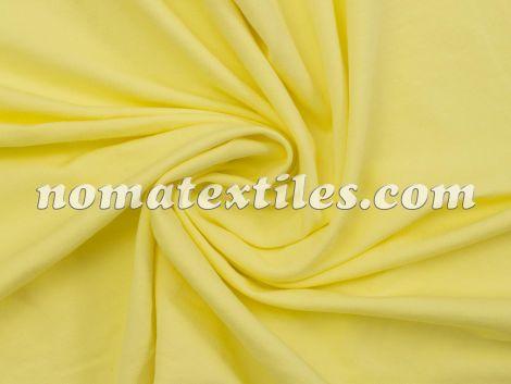 Трикотаж двунитка пенье (Бледно желтый)